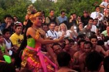 Kecak dance, Bali, Indonesia. 2012.