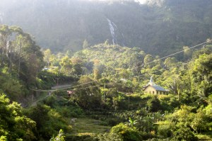 Scene near the village of Siboruon, North Sumatra, Indonesia.