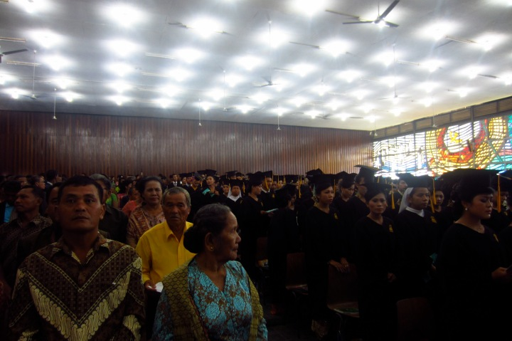 Graduation Ceremony. Nommensen University HKBP.27 April 2013