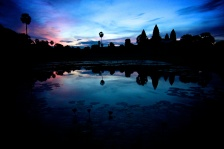 Sunrise at Angkor Wat - near Siem Reap, Cambodia. 2013