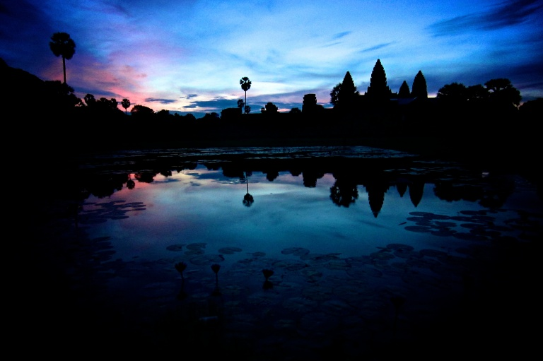 Sunrise at Angkor Wat - near Siem Reap, Cambodia