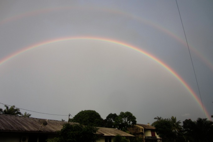Recent full double rainbow.