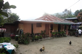 The home of one of my students, in the village of Bonan Dolok.