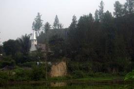 HKBP church in Bonan Dolok.