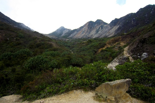 Hiking up Mt. Sibayak - Berastagi, Indonesia