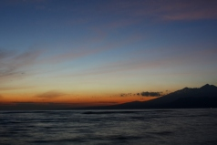 Sunrise on Gili Meno, Indonesia