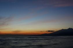 Sunrise on Gili Meno, Indonesia