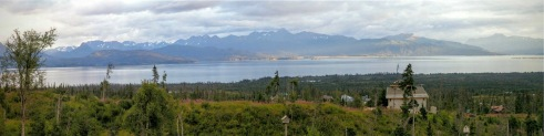 Panorama in Homer, Alaska