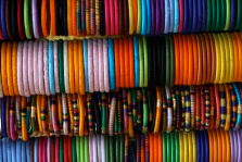 Bangles in Delhi, India