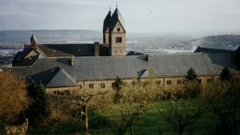 Abbey from the garden