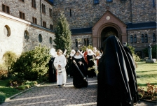 Palm Sunday procession. Eibingen, Germany. 2002.
