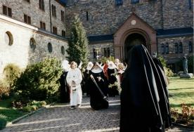 Palm Sunday procession. Eibingen, Germany. 2002.
