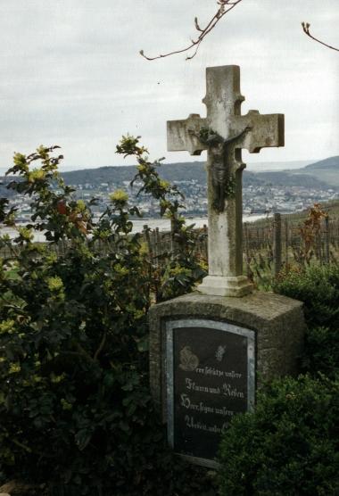 Hildegard's grave
