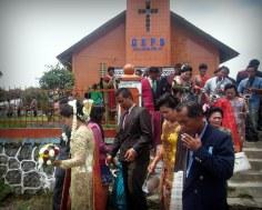 Wedding in Sidamanik village - Indonesia