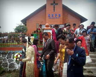 Wedding in Sidamanik village - Indonesia