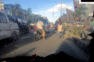 Main road in Balige
