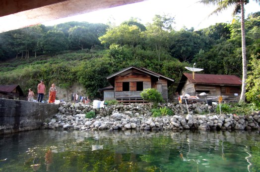House on Lake Toba