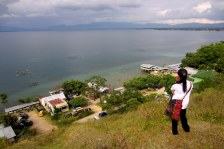 Lake Toba, from Lumban Silintong, Balige