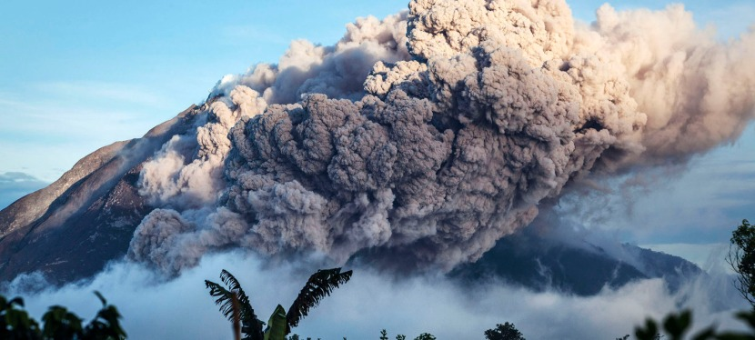 Continued Eruptions on Mt. Sinabung in North Sumatra