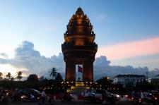 Victory Monument - Phnom Penh, Cambodia