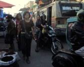 Market in Balige, Indonesia