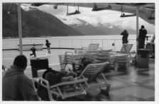 On the ferry, Inside Passage of Alaska