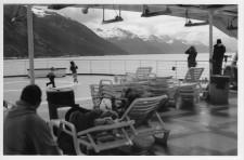 On the ferry, Inside Passage of Alaska