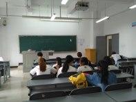 "My classroom for the 2 week ""model school"" at Chengdu University"