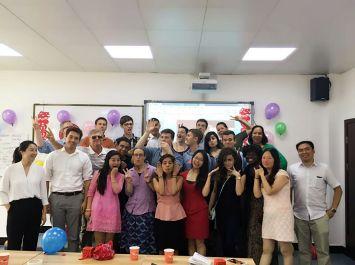 My Peace Corps trainee group at Chengdu University