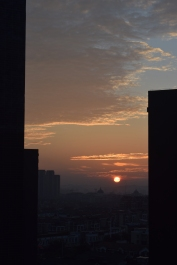 Sunrise from September 30.