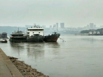 The Yangze River in Luzhou