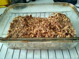 Apple oat crisp