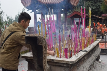 Holy Water Temple in Mianyang