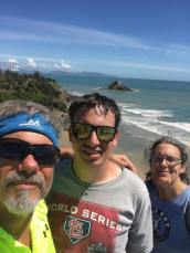 Skip, Nathan, and I in Vung Tau, Vietnam