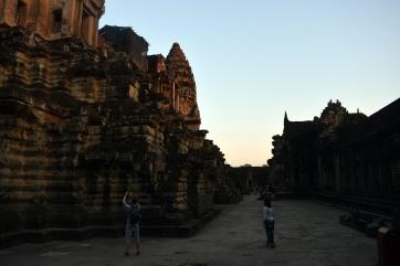 At Angkor Wat, Siem Reap, Cambodia