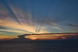 Sunset in Vung Tau, Vietnam