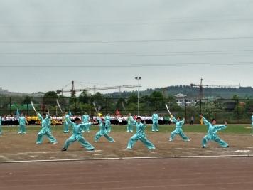 Kung Fu performance