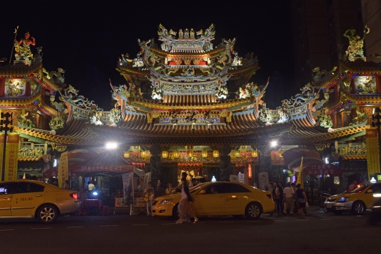 Ciyou Temple near Raohe Night Market