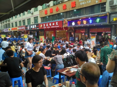 Eating out in China