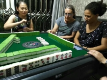 Playing Mahjong