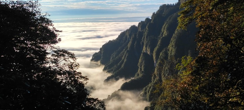 Hiking Mt. Emei