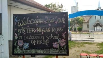Wonderful welcome