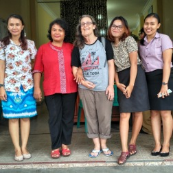 With teachers from Memory English Course