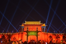 City Wall, Xi'an, on Lunar New Year