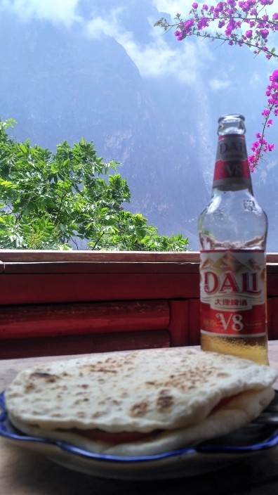 Refreshing view at Tiger Leaping Gorge
