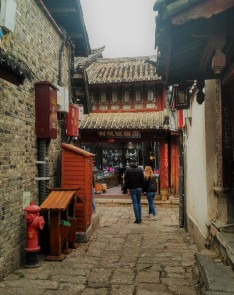 Old town in Lijiang