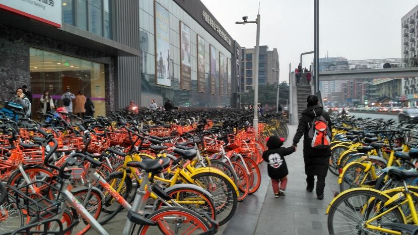 The Bikes ofChengdu