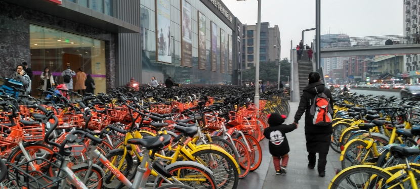The Bikes of Chengdu